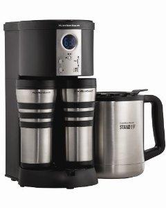 Hamilton Beach ® 45237R Stay Or Go ® Custom Pair™ Coffeemaker