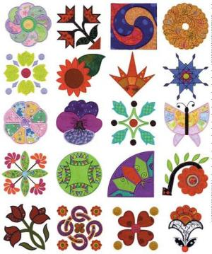 Amazing Designs / Great Notions 3012 Linda Teufel's Quilt Applique Multi-Formatted CD