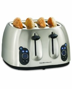 Hamilton Beach ® 24502 Digital Metal 4 Slice Toaster