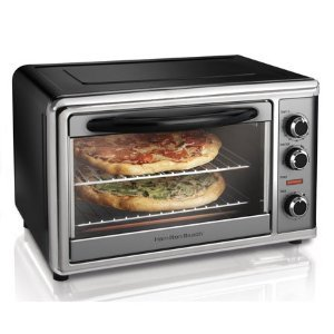 "New Hamilton Beach 31104 Two 12"" Pizza Countertop Toaster Oven"