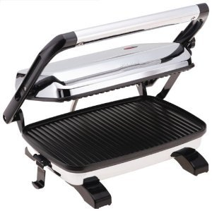 New Hamilton Beach 25450 Panini Press Gourmet Sandwich Maker