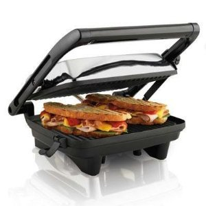 New Gri 25460 Hamilton Beach Panini Maker