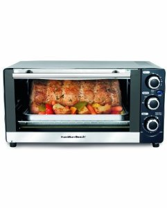 New Hamilton Beach 31409 6-Slice Toaster Oven