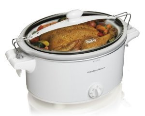 New Hamilton Beach 33263 Stay or Go 6-Quart Slow Cooker