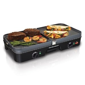 New Hamilton Beach 38546 3-In-1 Grill/Griddle