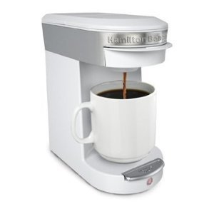 Hamilton Beach 49972 Personal Cup One Cup Pod Brewer- White