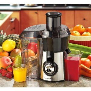 New Hamilton Beach Big Mouth Juice Extractor
