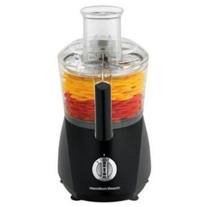 New Hamilton Beach 70670 Chefprep 525 Watt Food Processor - Black