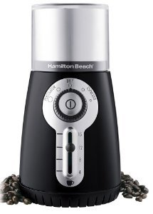 Hamilton Beach 80374 Custom Grind Deluxe 15 Cup Hands-Free Coffee Grinder