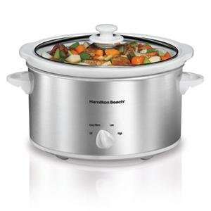 Hamilton Beach 33140V 4 Qt. Slow Cooker