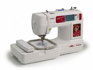 "Simplicity Brother SB7050E 4X4"" Embroidery Machine USB Stick Port, 10 Extras $500 Values! +ELS1 Lettering Software"