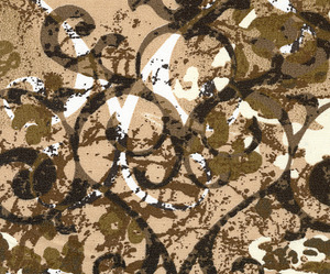 Fabric Finders FF1303 Black Bronze Print 15Yd Bolt $9.34/Yd 100% Cotton 60""