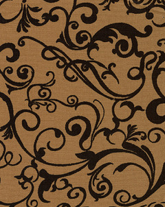 Fabric Finders FF1296 Bronze/Black Print Bolt 9.34 A Yd 100% Cotton 60""