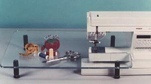 Sew Steady Portable Freearm or Flatbed Sewing Machine or Serger Clear Extension Tables for Quilting, Sewing & Crafts by Dream World - Specify Brand/#