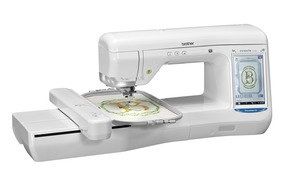 "Brother VE2200 Dream Maker 7x12"" Embroidery Machine 14 Extras $2600, Great Notions 1000 Designs CD, PE Design 10, 0% Finance"