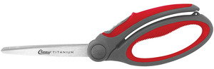 "Clauss, 18073 9"" Titanium Bonded Spring Assisted Shear, Scissor, Cutting, Cutter, Trim, Trimmer, Snip, Cut"