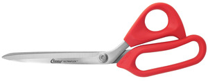 "Clauss, 18422, 10"", Ultraflex, Bent, Scissor, Shear, Stainless Steel,  Bow, Handle, Wearing Gloves, Adjustable Tension, Cutting, Cutter, Trim, Trimmer, Snip, Cut, Adjustable Tension"