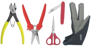 Clauss 18588 Floral Florist 34103 Folding Knife, 15453 Corsage Straight Trimmer, 33503 Scissor Shears, 18083 Rose Strip Gloves, 20013 Wire Cutters