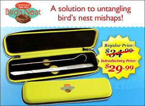 Designs, Machine, Embroidery, BNT1001, Bird, Nest, Tool, Kit, Cutting, Knife, Hook, Release, Clever, dealing, mishaps