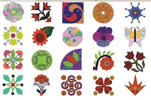 Amazing Designs / Great Notions 3012 Linda Teufel Quilt Applique Multi-Formatted CD