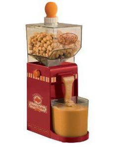 Nostalgia Electrics NBM400 Electric Nut Butter Maker 150W, for peanuts, cashews, almonds, hazelnuts, macadamia nuts, sunflower seeds