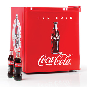 Nostalgia Electrics, Coca-Cola Series, CRF170COKE, 1.7-Cubic Foot, Mini Fridge