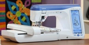 Brother, Duetta, Duetta 2, 4750D, 4750, babylock ellegante 3, (Babylock BLG3), Sewing, Quilting, 7x12, Embroidery, Machine, innovis, Disney, 416 Built in Designs, 487 Stitches, ELS, Placement Kit, Hard Cover