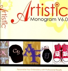 Artistic Monogram ARTMONOGRAM V7 Embroidery Software Plus Create Edit Resize