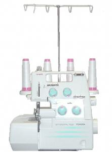 Toyota TL-432DE Best Buy Serger. Roll Hem, Differential Feed,  6 Bonus Feet & Video - Made in Taiwan