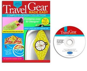Designs in Machine Autographed copy of Travel Gear Made Easy Book plus CD