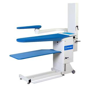 Reliable 7200VB, Commercial Vacuum & Up-Air Heated Ironing Board Pressing Table, Adj Height, Cover Pad, Hot Iron Rest (Replaces 724HAB)