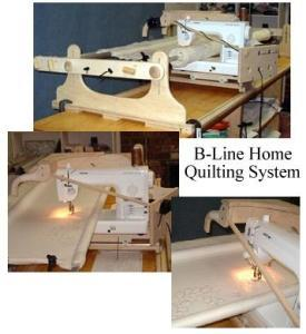 B-Line Free Motion Home Quilting Frame System with Roller Platform for Your Machine