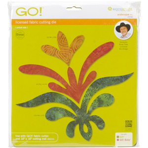 AccuQuilt, GO!, 55046, Arabesque, Die, 1, Ricky, Tims, Finished, accu, quilt, cutting, board
