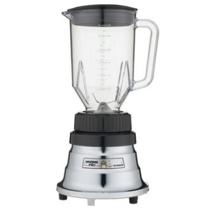 Waring WPB80BC Professional Bar Blender with 48-Ounce Jar, Brushed Chrome
