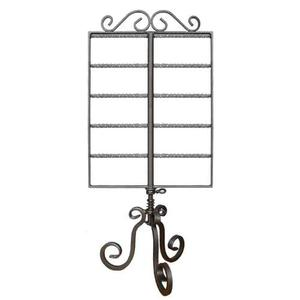 PGM Pro 913C-B 2 Way Revolving Metal Earring Counter Top Display Rack