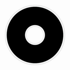 Fil-Tec 13175 Polyester Black Prewound L Bobbin Thread 10/Tube x 120 yds