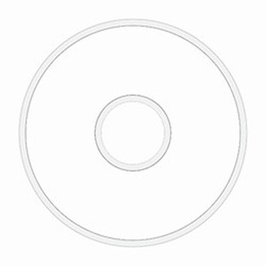 """Fil-Tec 13014 """"L""""Style Cotton White Prewound Bobbin 10 Bobbin Tube: 75 yds/Bobbin"""