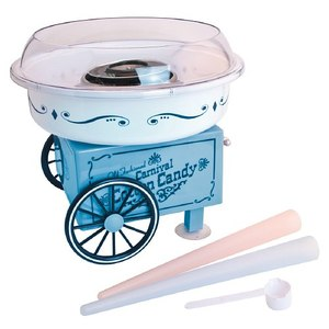 Nostalgia Electrics PCM305 Vintage Collection Hard & Sugar-Free Cotton Candy Makernohtin