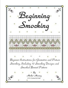 Creations by Michie CBBK2 Beginning Smocking Heirloom Book, 10 Designs, 4 in Colors