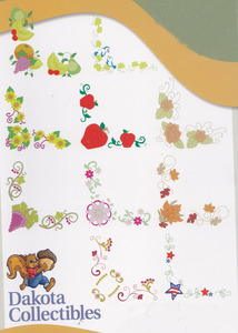 Dakota Collectibles F70504 Napkins Borders 10 Designs 5X7 Multi-Formatted CD
