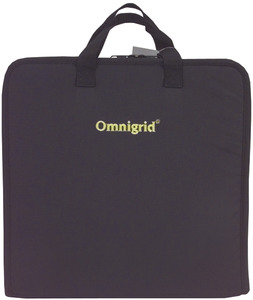 "-OMNIGRID TRAVEL CASE, Omnigrid OGQTC Quilters 14x14x2.75"" Travel Case Storage Bag, Handles, Shoulder Strap"
