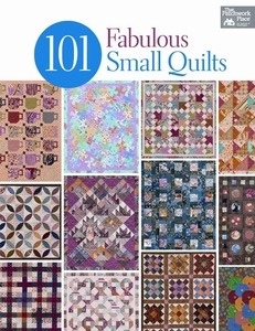 That Patchwork Place Country Threads B1195 101 Fabulous Small Quilts Patterns Book, 288 Pages for doll quilts, wall quilts, table runners, candle mats