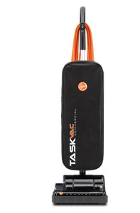 In Stock, Hoover, CH53000, Taskvac, Lightweight, Commercial, Upright, Vacuum Cleaner, 4Amp, Finger, On Off, Soft Bag, 35' 3Wire Cord, Aluminum Handle, Comfort Grip, 9.4Lb