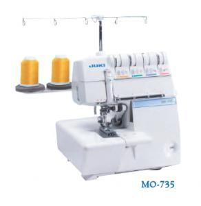 Juki MO735, 10Yr Extended Warranty, $360 Free 8Feet Video Case12Spools 100Needles 543&2 Thread Safety Chain Stitch 2&3 Needle CoverHem Overlock Serger