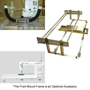 Quilt Easy QE3 Frame, Handi Handles and Juki TL 98Q Best Buy Quilting Machine COMBO System