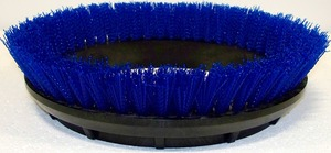 "Oreck Orbiter 237058 12"" Scrub Brush, Blue .020"" PP Bristle"