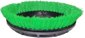 "Oreck Orbiter 237057 12"" Scrub Brush, Green .015"" PP Bristle"
