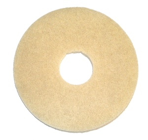 "In Stock Oreck 437058 12"" Beige Stone Care, Pad 5 Pads / Case only"