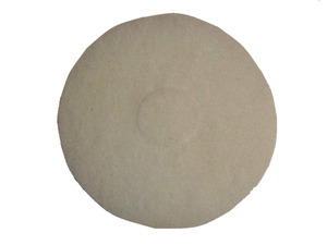 "Oreck Orbiter 437051 12"" Polish Pad, White, Single Pad"
