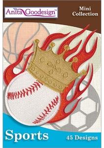 Anita Goodesign 143MAGHD Sports Embroidery Design Collection